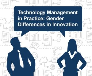 "Flyer of the Event ""Technology Management in Practice: Gender differences in Innovation"""