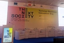 "Towards entry ""Nivedita Agarwal at the Tunisian Business and Innovation Day"""