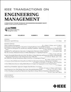 Front page of IEEE TEM